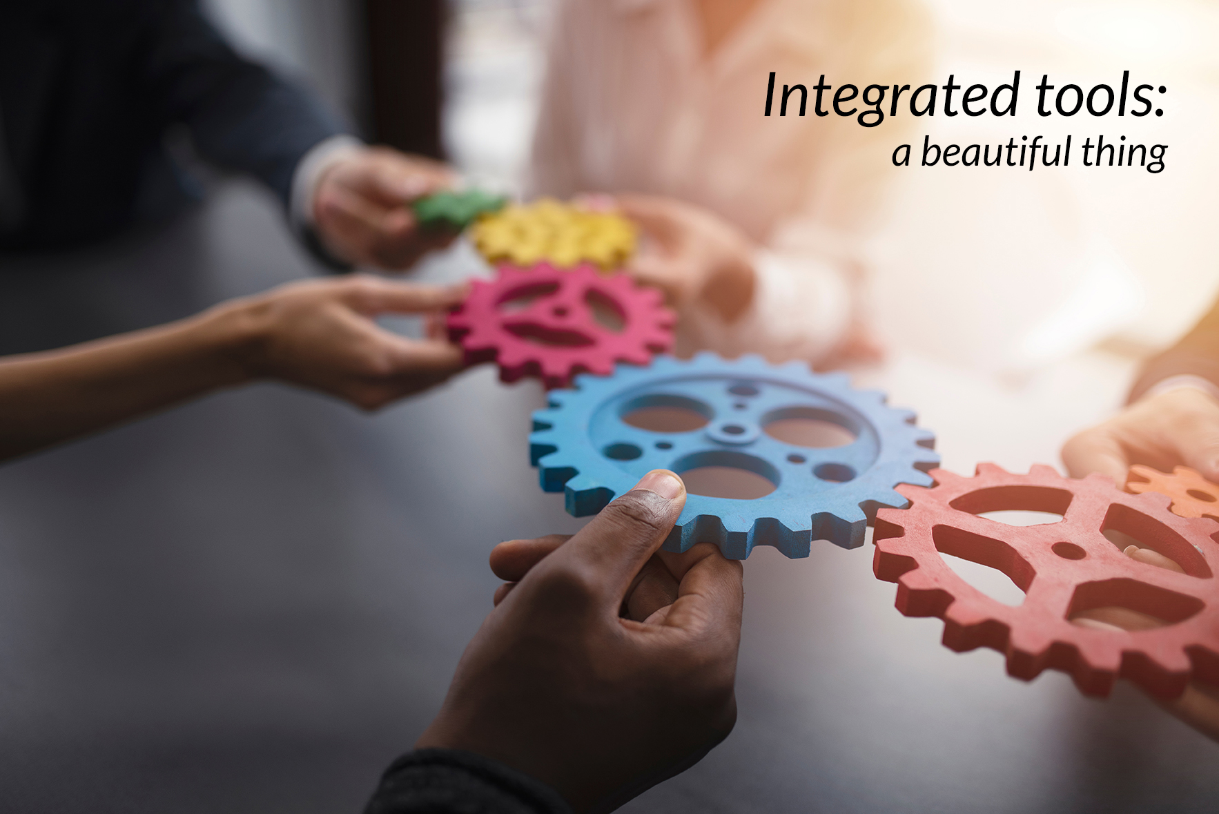 Integrated Products for Mental Health: Save Time, Money, Errors
